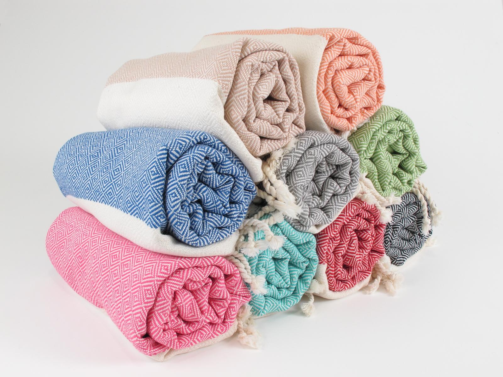 Diamond turkish towel
