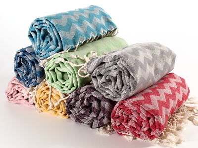 Waves Turkish Towel