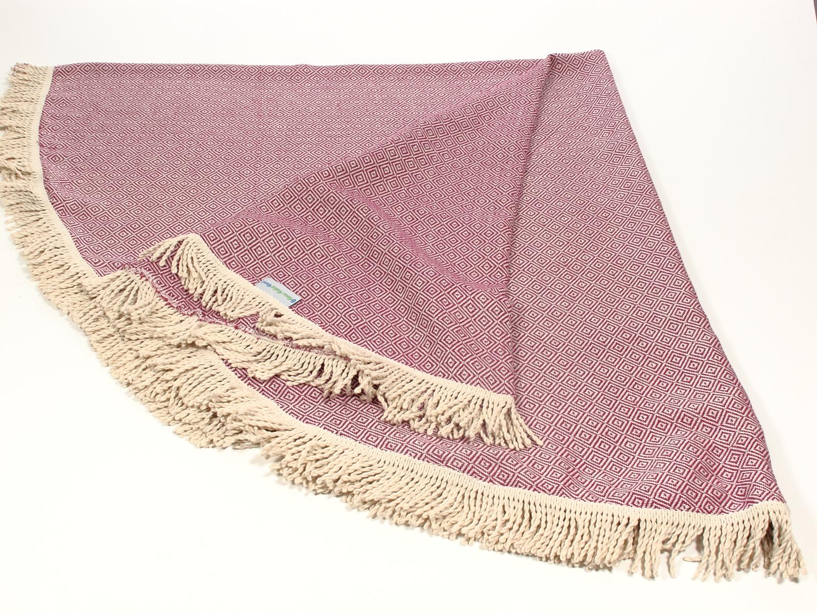 Diamond Round turkish towel