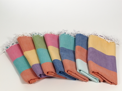 Carnival Turkish Hand Towel